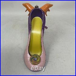 Walt Disney World Parks Epcot Rare Figment Shoe Ornament New W Tags See Photos