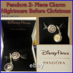 Walt Disney World Parks Nightmare Before Christmas Pandora Charms Set Jack Sally