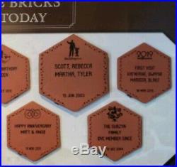 Walt Disney World Personalized Commemorative Brick Stone Plaque MICKEY CASTLE