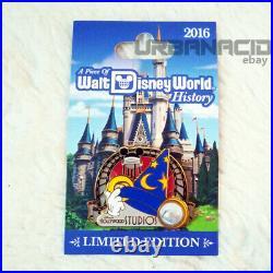 Walt Disney World Piece of Disney History 2016 Sorcerer's Hat Pin LE1500