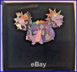 Walt Disney World Pin Figment Ear Hat One Little Spark Dreamfinder Rare LE
