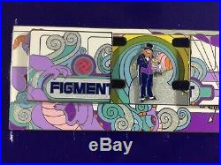 Walt Disney World Pin Magical Monorail Collection Figment Jumbo Dreamfinder