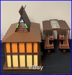 Walt Disney World Polynesian Resort Monorail Station Accessory Playset RARE