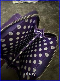 Walt Disney World Purple Potion Loungefly Mini Backpack And Purse NWOT