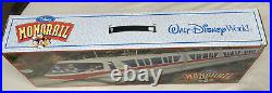 Walt Disney World Red Monorail Playset with Monorail Track Brand New In Box Rare