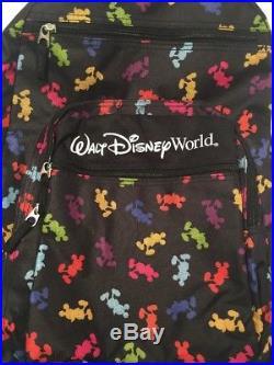 Walt Disney World Resort Black Backpack Mickey Mouse Bag
