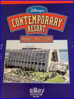 Walt Disney World Resort Contemporary Resort Hotel Monorail Toy Accessory Unused