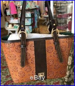 Walt Disney World Resort Grand Floridian Dooney & Bourke Tote Brown Leather 2019
