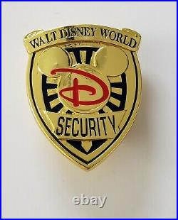 Walt Disney World Resort Security Division Rare Mickey Mouse Officer's Badge
