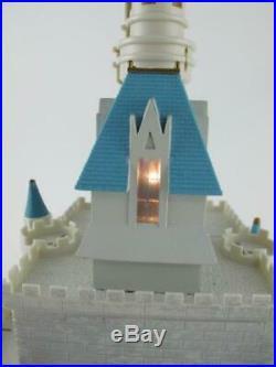 Walt Disney World Retired CINDERELLA CASTLE Monorail Park Playset & Accessories