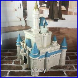 Walt Disney World Retired Cinderella Castle Monorail Park Playset