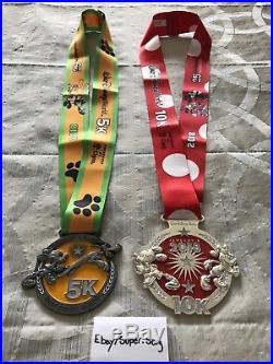 Walt Disney World RunDisney 25th Marathon 2018 Dopey Challenge All 6 Medals