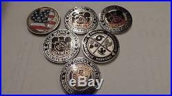 Walt Disney World Security Challenge Coins