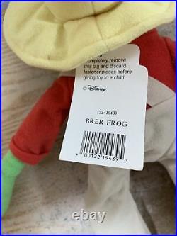 Walt Disney World Splash Mountain Brer Frog 17 Plush RHTF