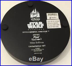 Walt Disney World Star Wars Weekends 2015 Stitch as Grievous Figure LE