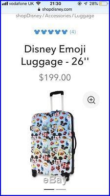 Walt Disney World Suitcase Size Large 26 Ins