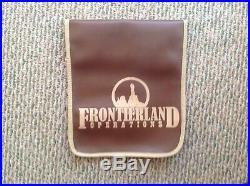 Walt Disney World THUNDER MOUNTAIN Park Used Vinyl Rope Sign Prop Display