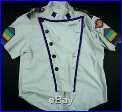 Walt Disney World TOMORROWLAND shirt cast member COSTUME uniform VINTAGE 00s