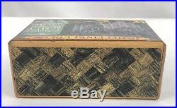 Walt Disney World The Haunted Mansion Vintage Wooden Secret Panel Chest Rare