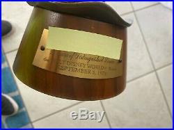 Walt Disney World Tinker Bell 25 Yr Bronze Service Award 1974 Provocative Statue