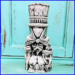 Walt Disney World Trader Sam's Grog Grotto Hatbox Ghost Tiki Mug First Edition