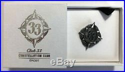Walt Disney World WDW Club 33 EXCLUSIVE Constellation Club EPCOT Pin RARE