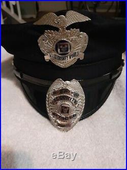 Walt Disney World. WDW Security Badges Old Style Vintage Rare
