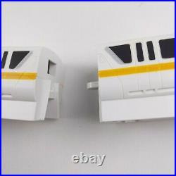 Walt Disney World Yellow Gold Monorail Playset Track Theme Park Edition Train