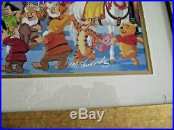 Walt Disney World celebration Mickey Friends LE 795 Litho Signed COA Hernandez