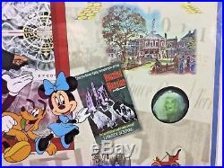 Walt's Wonderful World Lumicel LE141/1000 Disney World Talking Cel With COA