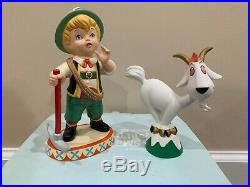 Wdcc Walt Disney Classics Switzerland Alpine Climber And Goat Its A Small World