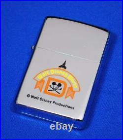ZIPPO Lighter Walt Disney World 1971
