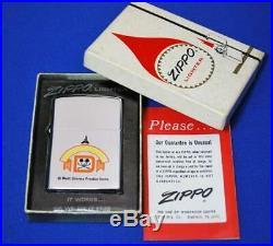 ZIPPO Walt Disney World 1970 very rare vintage